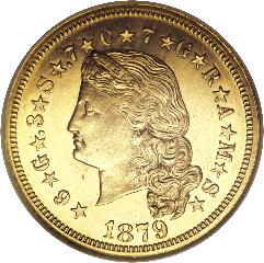 1879 Stella (obverse)
