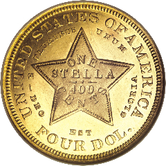 1879 Stella (reverse)