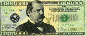 $1 million bill