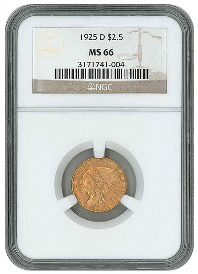 $2.50 Gold piece