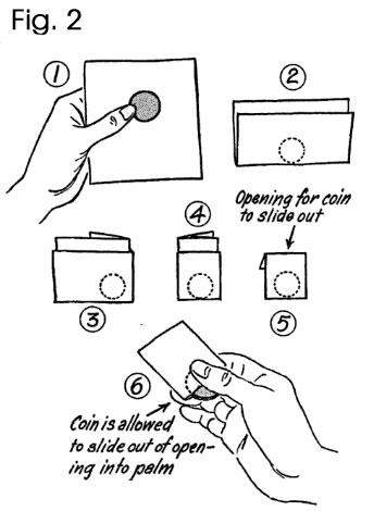 The coin fold