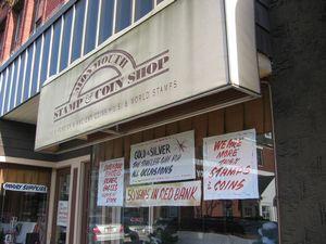 Local coin shop