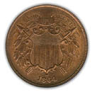 Two Cent Coin obverse