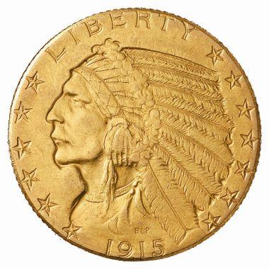 1915-D Half Eagle (obv)