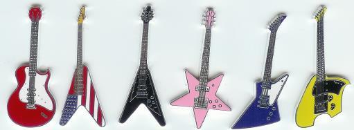Guitar coins