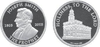 Joseph Smith commemorative