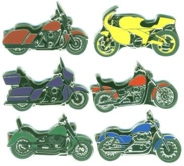 Motorcycle coins