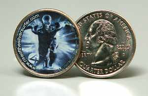 Silver Surfer Quarter